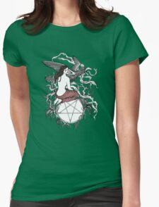 Satan Girl Womens Fitted T-Shirt