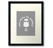 Too Hoth To Handle Framed Print