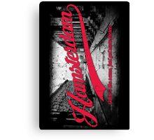 Hamsterdam - Cloud Nine Edition (Red) Canvas Print