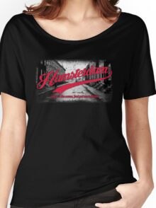 Hamsterdam - Cloud Nine Edition (Red) Women's Relaxed Fit T-Shirt