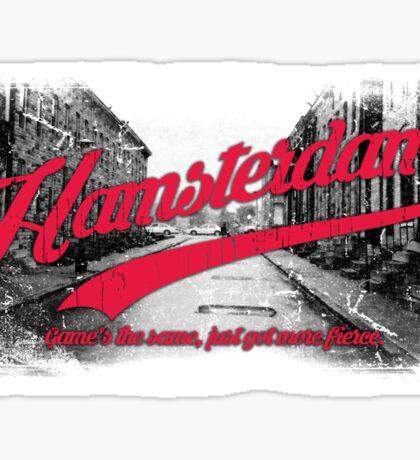 Hamsterdam - Cloud Nine Edition (Red) Sticker