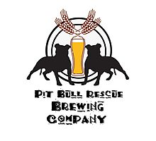 Pit Bull Rescue Brewing Company Photographic Print