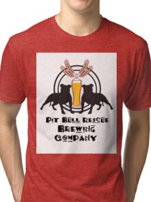 Pit Bull Rescue Brewing Company Tri-blend T-Shirt