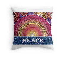 Peace! Throw Pillow