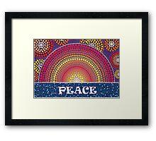 Peace! Framed Print