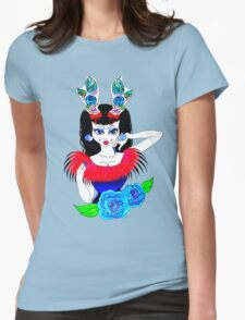 tattoo antlers and roses  T-Shirt