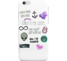 Tumblr is for Losers Sarcasm iPhone Case/Skin