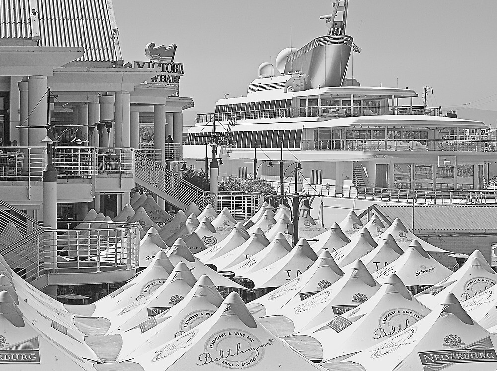 White at the Waterfront by awefaul