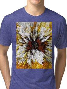 Blast From The Past Abstract Art Tri-blend T-Shirt