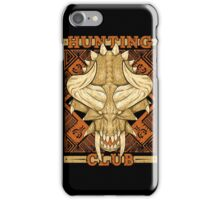 Hunting Club: Diablos iPhone Case/Skin