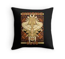 Hunting Club: Diablos Throw Pillow