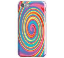 Colorful swirl pattern iPhone Case/Skin
