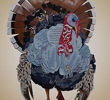 Wild turkey by Ruud van Koningsbrugge