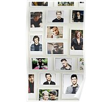 One Direction Polaroid Poster