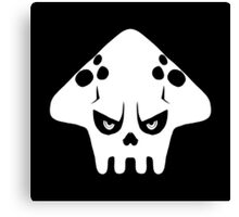 Splatoon skull Canvas Print