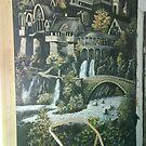 mural - rivendell by Gillian Ussher