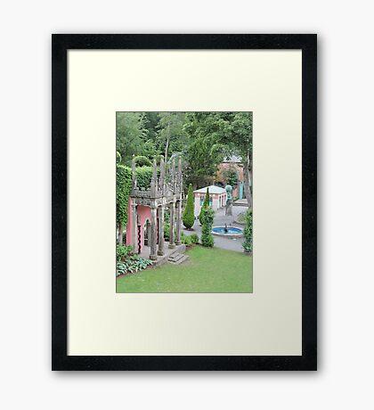 Shaping (Portmerion) Framed Print