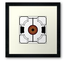 Anti-Companion Cubes - Turret Framed Print