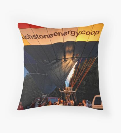 Energy Burn Throw Pillow
