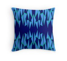 Floating Tri's #2 Throw Pillow