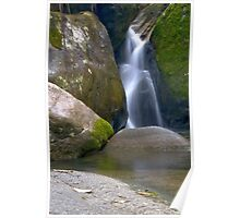 Waterfall nearby Teresopolis, Rio de Janeiro Poster