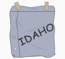 I'm Idaho!  One Piece - Short Sleeve