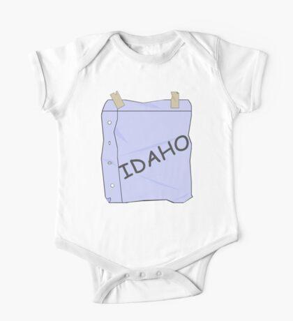 I'm Idaho!  One Piece - Short Sleeve