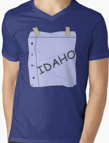 I'm Idaho!  Mens V-Neck T-Shirt