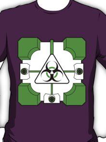 Anti-Companion Cubes - Biohazard T-Shirt
