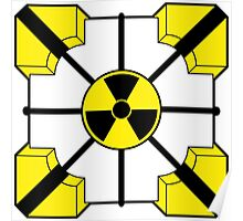 Anti-Companion Cubes - Radioactive Poster