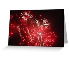 Guy Fawkes Fireworks Greeting Card