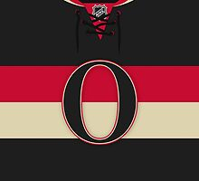 Ottawa Senators Alternate Jersey by Russ Jericho
