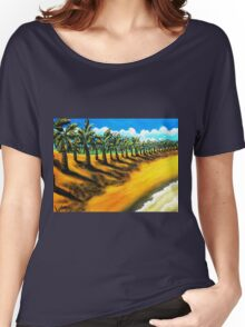 Sentry's of Sugar Beach Women's Relaxed Fit T-Shirt