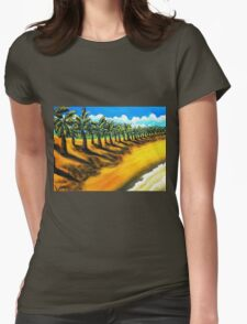 Sentry's of Sugar Beach Womens Fitted T-Shirt