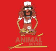 Animal Burger One Piece - Short Sleeve