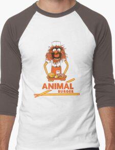 Animal Burger Men's Baseball ¾ T-Shirt