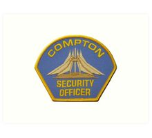 Compton Security Art Print