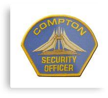 Compton Security Metal Print