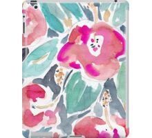 Peach Hibiscus iPad Case/Skin