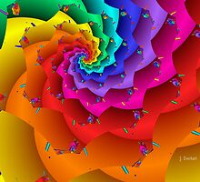 Fractal Flower by Julie Everhart
