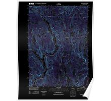 Massachusetts  USGS Historical Topo Map MA Colrain 20120604 TM Inverted Poster