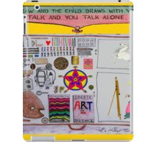 Draw and your Child will draw with you, iPad Case/Skin