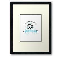 Nossa Senhora da Bicicletinha Framed Print