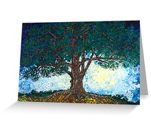 Luna Tree Greeting Card