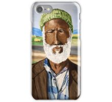 Basotho man from South Africa iPhone Case/Skin