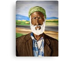 Basotho man from South Africa Canvas Print