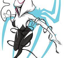 Spider-Gwen by jarofcomics