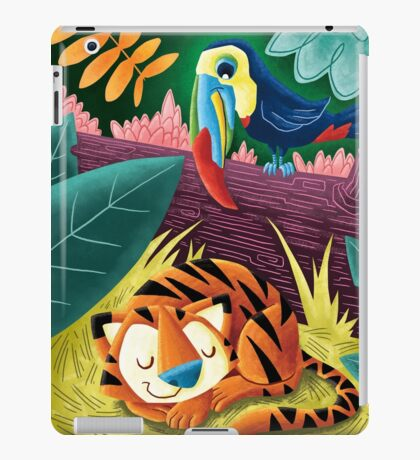 Sleepy Tiger iPad Case/Skin