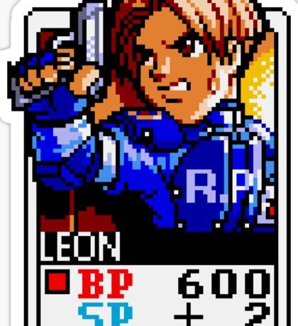 Leon Kennedy - Resident Evil Sticker