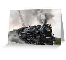 Smokey Train Greeting Card